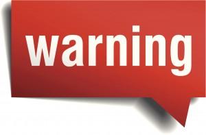 bug sweep warning graphic